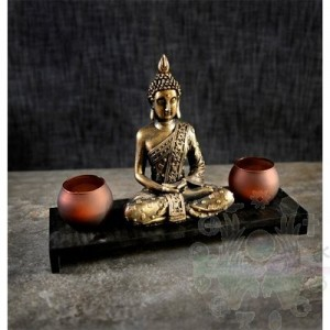 Chandelier bouddha