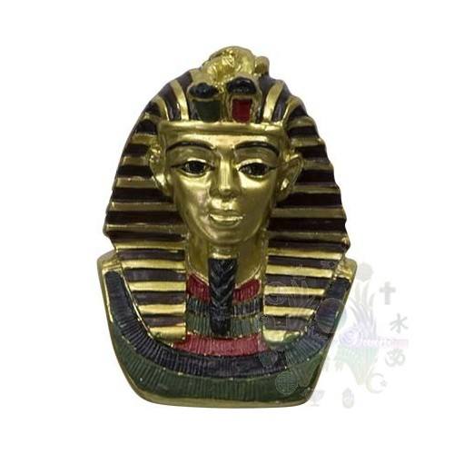 "FIGURINE EGYPTIENNE  2.25"""" bustes Pharaon"