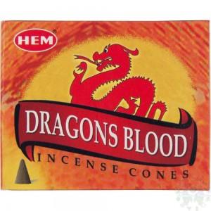 encens cone sang de dragon