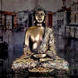 Bouddha assis 6 x 4 x 8