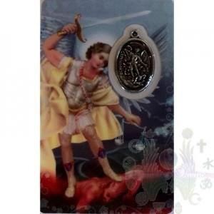 Carte médaille St Michel