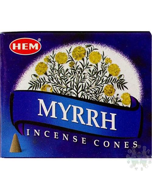 Encens cones  myrrhe