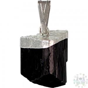 """Pendentif-tourmaline noire-0,5"""""""