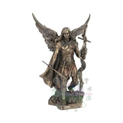 Archange - Saint Gabriel avec croix et trompette
