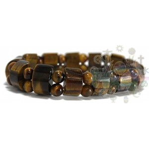 Bracelet Tank Oeil de Tigre