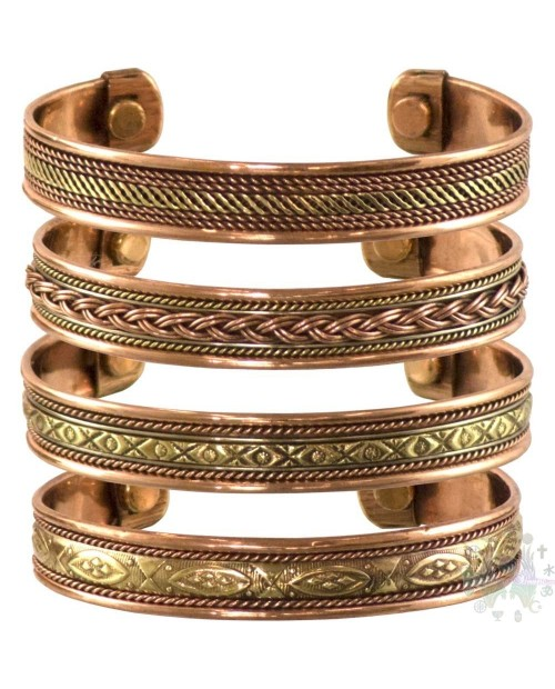 Bracelet cuivre-magnetique