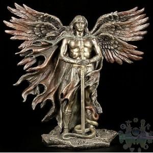 """Archange métatron 10"""""""" bronze"""