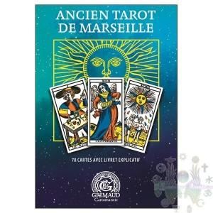 Ancien tarot de marseille 78 cartes avec livret explicatif