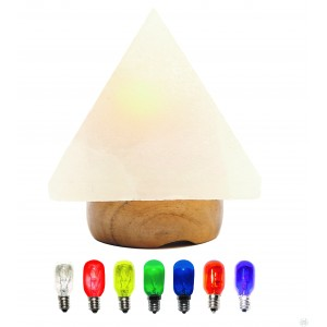 Lampe de sel pyramide (1,5-2,5 kg)